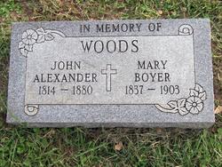 Mary Ellen <i>Boyer</i> Woods