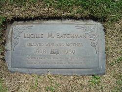Lucille Marie <i>Morgan</i> Batchman