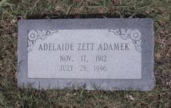 Adelaide Zett Adamek