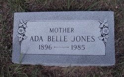 Ada Belle <i>Jackson</i> Jones