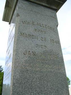 Pvt William E Allegre