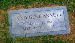 Larry Gene Annett