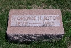 Florence Helton <i>Towle</i> Acton