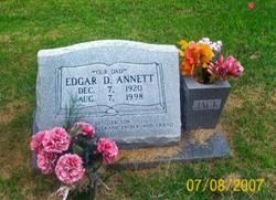 Edgar Delbert Jack Annett
