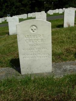 Arthur F Church