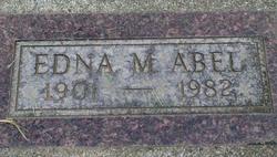 Edna M Abel