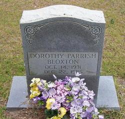 Dorothy Parrish Bloxton