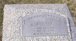 Mary Grace Grace <i>Myers</i> Anderson