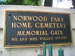 Norwood Park Home Cemetery