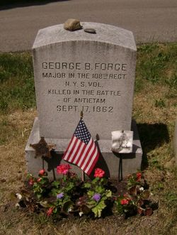 Maj George B Force