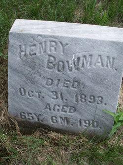 Henry Bowman