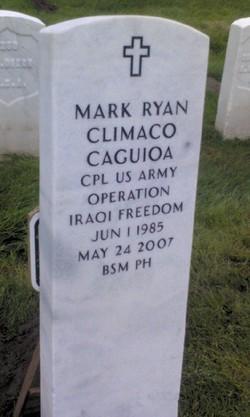 Corp Mark Ryan Climaco Caguioa