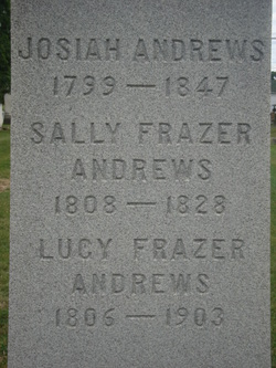 Sally <i>Frazer</i> Andrews
