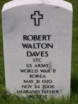 LTC Robert Walton Bob Daves