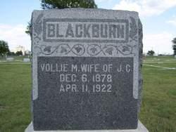 Vollie M <i>Grissom</i> Blackburn
