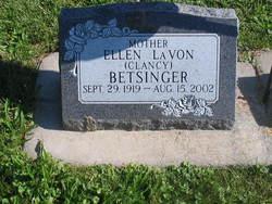 Ellen LaVon <i>Clancy</i> Betsinger
