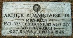 Pvt Arthur R Madgwick, Jr