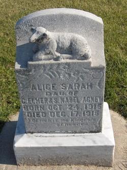 Alice Sarah Agnew