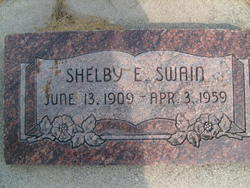 Shelby E Swain