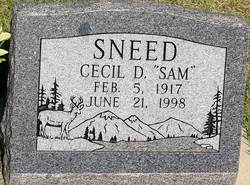 Cecil D Sam Sneed
