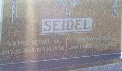 Maria <i>Flachs</i> Seidel