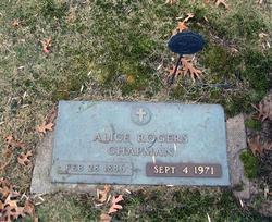 Alice <i>Rogers</i> Chapman