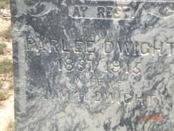 Frances Parlee <i>Hyde</i> Dwight