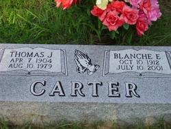 Blanche E <i>Garrett</i> Carter