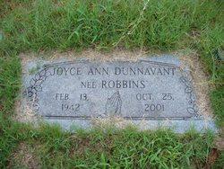 Joyce Ann <i>Robbins</i> Dunnavant