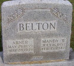 Amanda Mandy <i>Woodrum</i> Belton