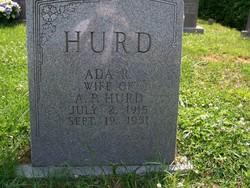 Ada H <i>Robins</i> Hurd