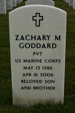 Pvt Zachary Michael Goddard