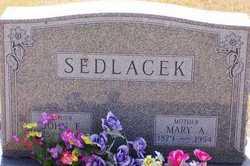 Mary A <i>Kadera</i> Sedlacek