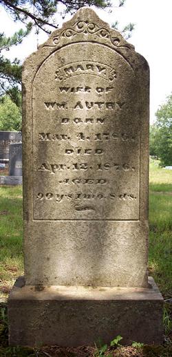 Mary <i>Campbell</i> Autry
