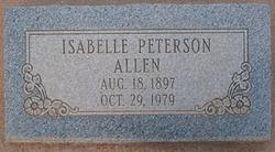 Isabelle Belle <i>Peterson</i> Allen
