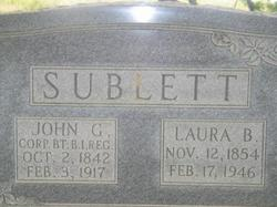 Laura Belle <i>Burress</i> Sublett