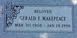 Rev Gerald Francis Makepeace