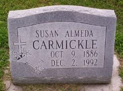 Susan Almeda <i>Giddens</i> Carmickle