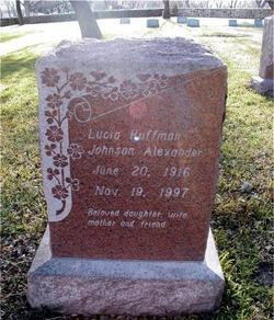 Lucia Huffman <i>Johnson</i> Alexander