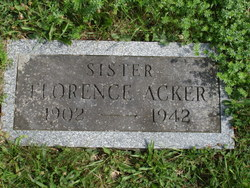 Florence Acker