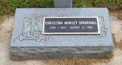 Christina <i>Morley</i> Sparkhall