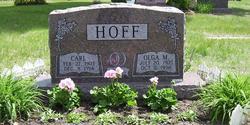 Olga Marie <i>Olsen</i> Hoff
