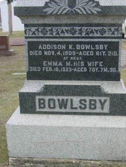 Addison K Bowlsby