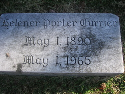 Helener <i>Porter</i> Currier