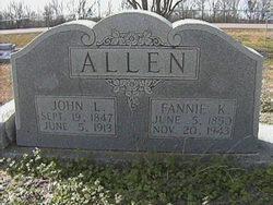 Fannie Katrina <i>Talbot</i> Allen