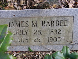 James Monroe Barbee