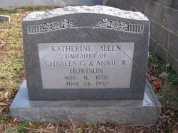 Katherine Allen Howison
