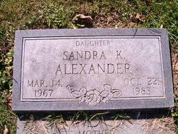 Sandra K Alexander