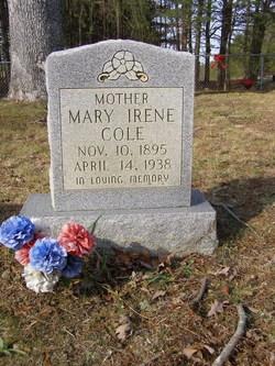 Mary Irene <i>Taylor</i> Cole