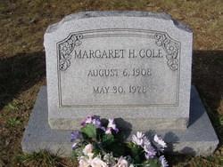 Margaret H Cole